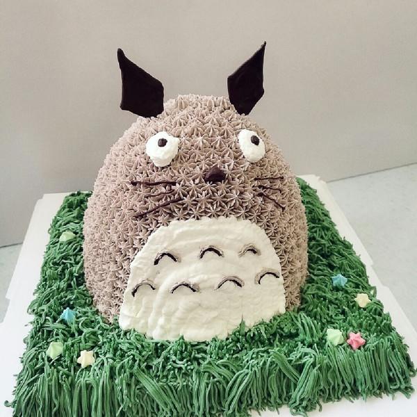 龙猫生日蛋糕