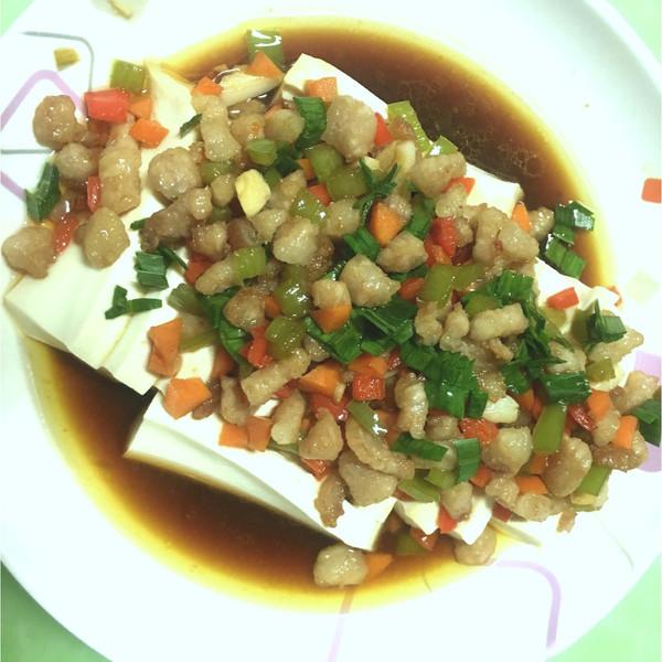 成果地方8的肉粒蒸豆腐美食的v成果天使照_豆月光最多的做法平阳图片