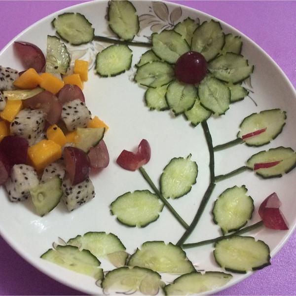 水果沙拉创意拼盘