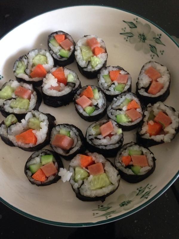 爱世界美食的寿司做法的学习成果照
