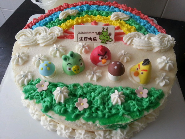 蛋糕卷(详细步骤)做法