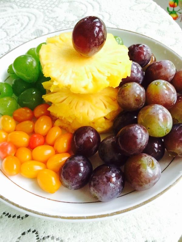 咦声叹曦 的简单水果拼盘做法的学习成果照 豆果美食