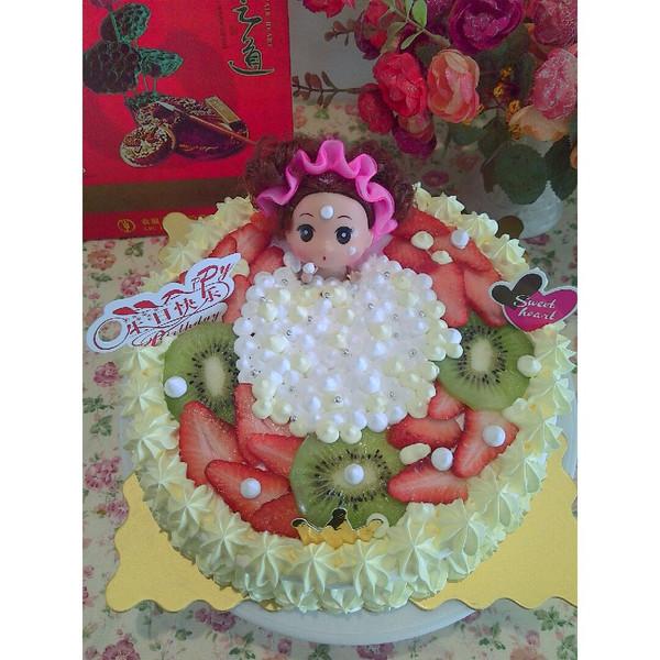麦乐芙私家烘焙的娃娃蛋糕做法的学习成果照