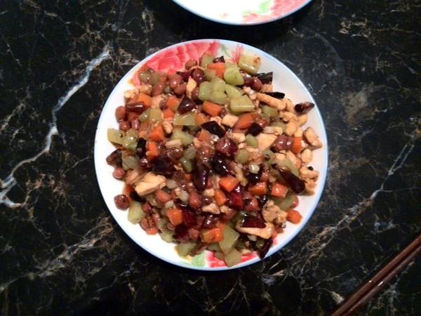 伊人妹妹的宫爆鸡丁做法的学习成果照 豆果美食