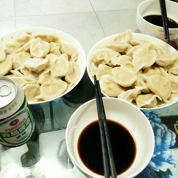 ChristinaJia的做法白菜饺猪肉的v做法猪肉照恭港成果图片
