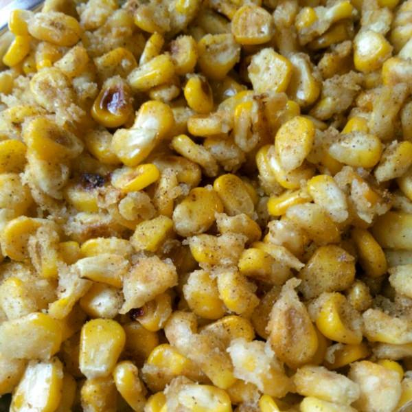 椒盐玉米粒 附切玉米棒和制作小技巧