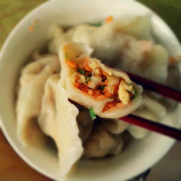 chilva的韭菜鲜虾馅饺子做法的学习成果照