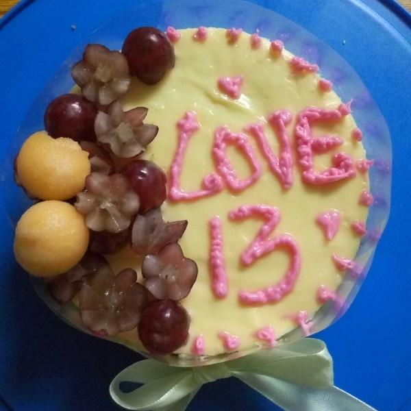 结婚纪念日蛋糕图片