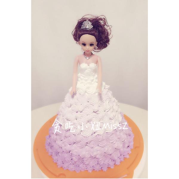 贪嘴女孩MissZ的给做法的芭比照片小妞的v女孩蛋糕23女生岁图片