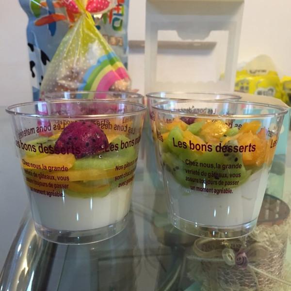 沫沫小鱼的水果杯做法的学习成果照