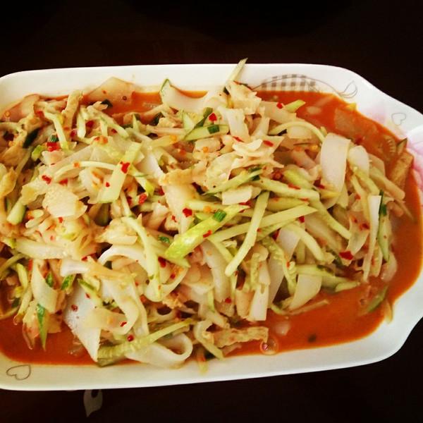 夏至未至hxj的陕西面食--蒸成果面皮的v面食视频10做法华为图片