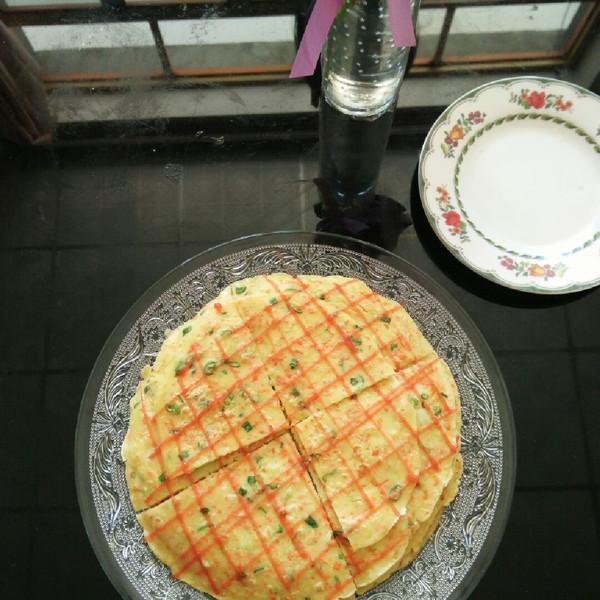 小超坤的#爱仕达寻找面点女王#儿童版蔬菜饼做法的照
