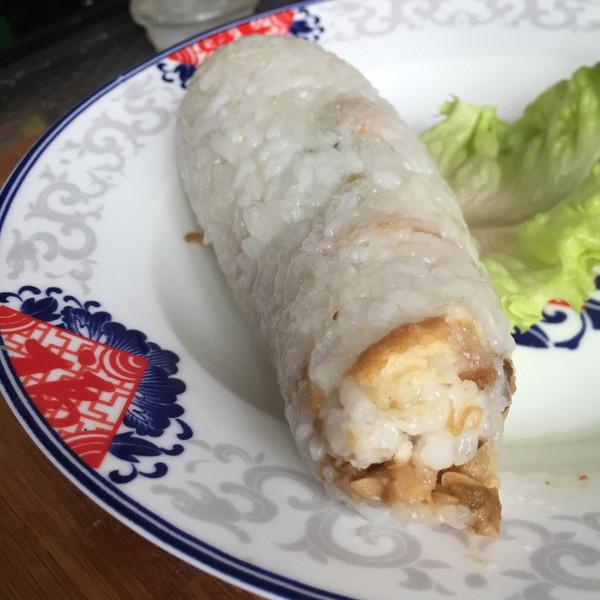 红和合的【什锦黑米糯米饭团】学生时代的美味