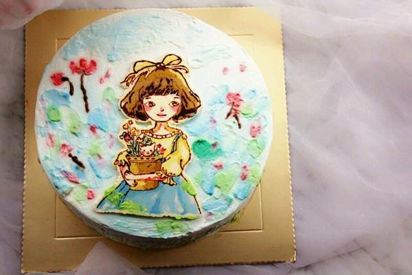 彩绘蛋糕.