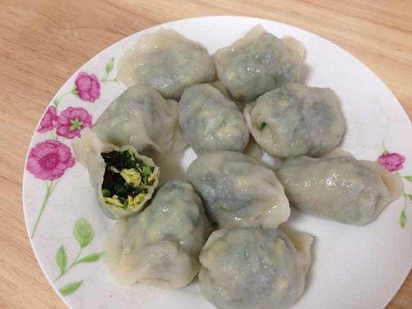 hangzi的韭菜虾仁素三鲜水饺(图解)做法的学习成果照