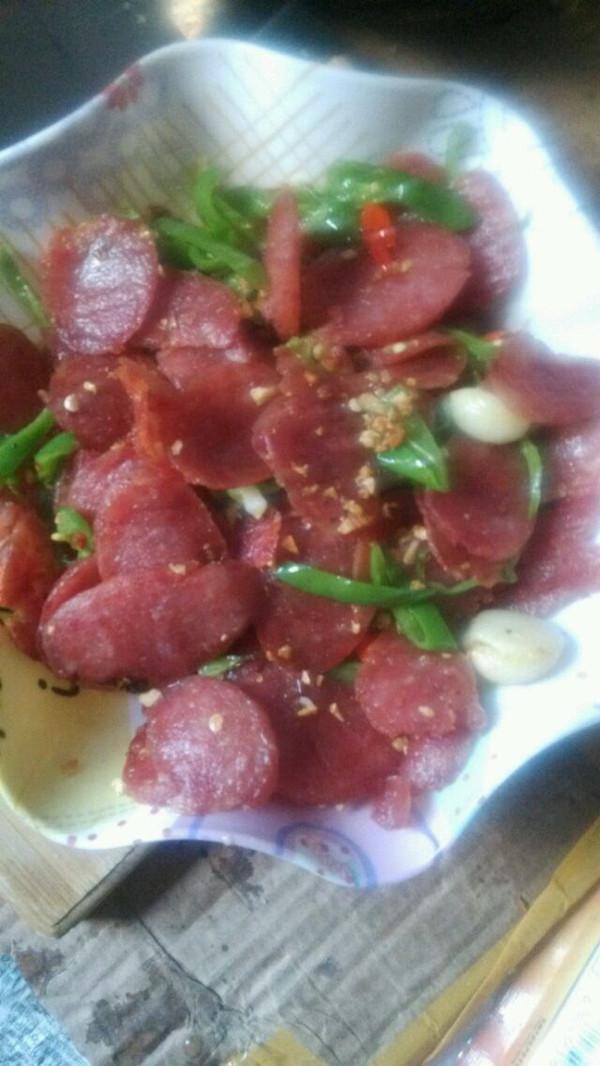 宠物猪为你做饭的蒜香香肠做法的学习成果照_豆果美食