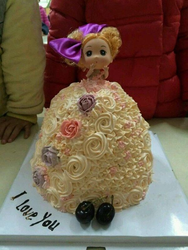 小公主生日蛋糕