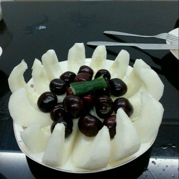 的简单漂亮爱心水果拼盘做法的学习成果照 豆果美食