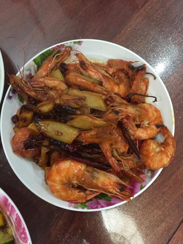 沙其马的红烧大虾做法的学习成果照