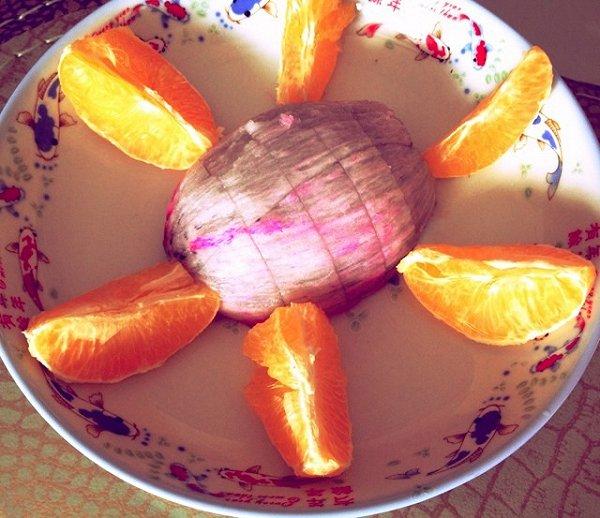 包教包会的创意水果拼盘做法的学习成果照