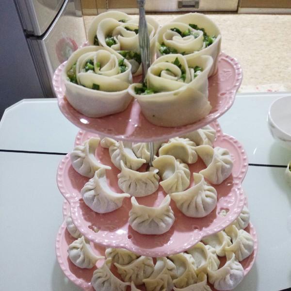 anitairdx的玫瑰饺子做法的学习成果照