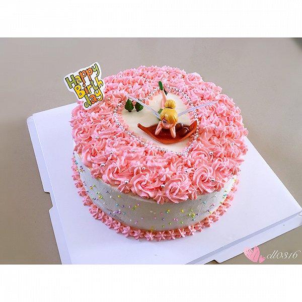 妈妈生日蛋糕_妈妈今天生日亲手为她做的蛋糕
