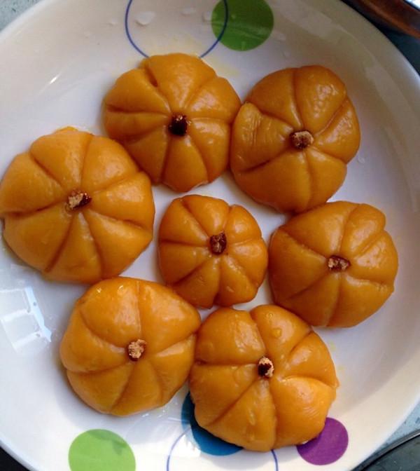 淡妆泡泡裙的健康小点心:南瓜做的南瓜饼~做法的
