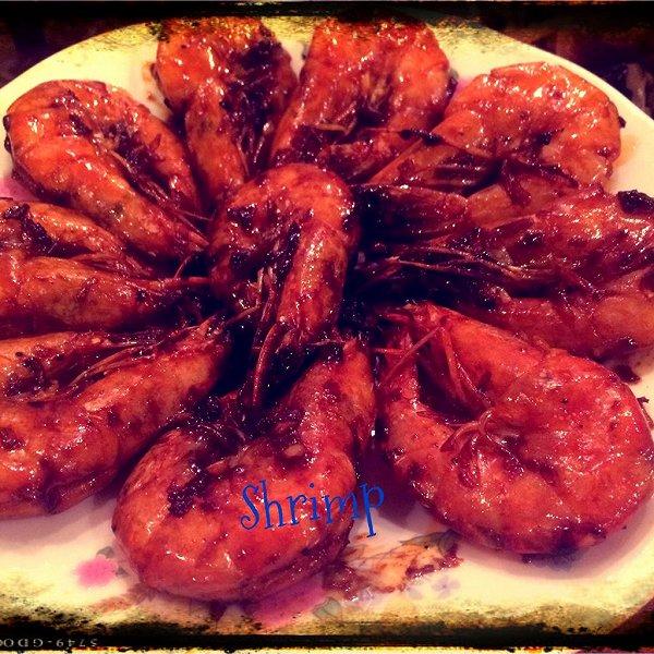 yulawoo的红烧大虾做法的学习成果照