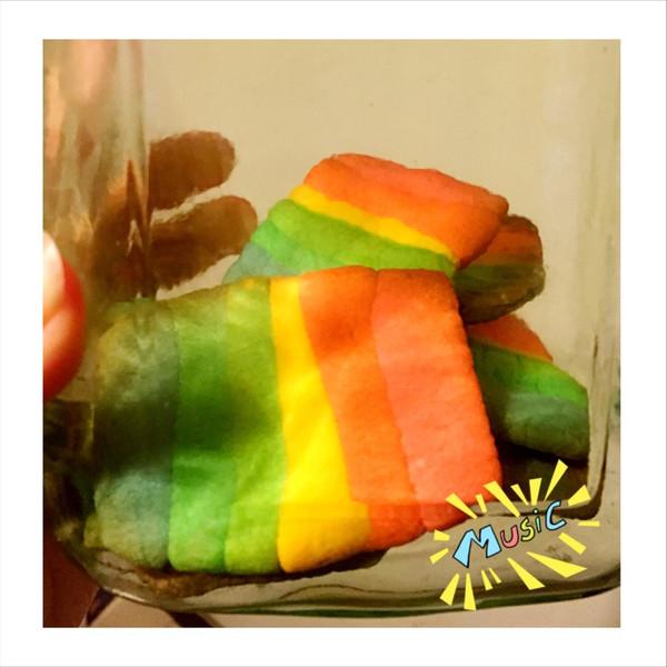 彩虹饼干——小清新治愈系