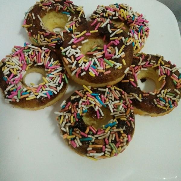 chen言言的缤纷巧克力迷你甜甜圈#疯狂动物城#做法的