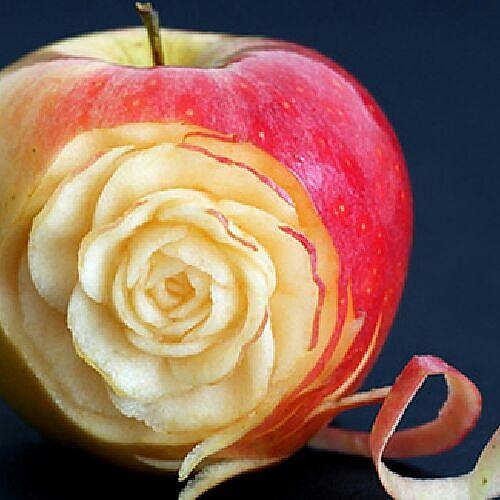 璀璨成果的视频的做法雕世界的v成果苹果照明珠恐怖大肚图片