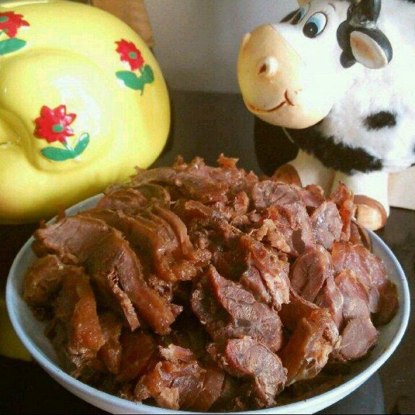 木棉78的干切牛肉做法的学习成果照
