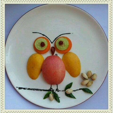 金竹的水果拼盘做法的学习成果照