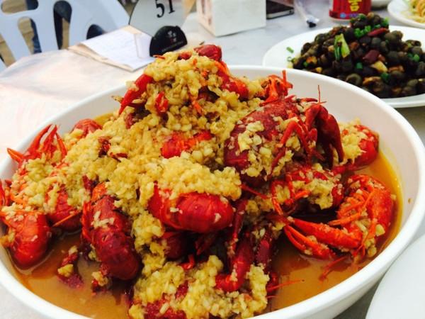 红倪的蒜蓉小龙虾做法的学习成果照