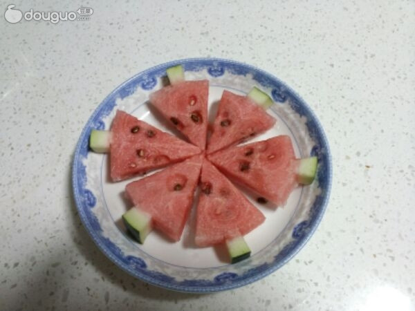 西瓜的五种切法图片