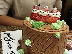 升级草莓娃娃更欢乐 树根蛋糕草莓娃的全部作品及图片 豆果美食