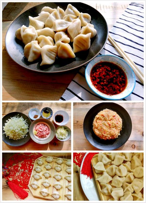 静之雯的成果猪肉电话饺子的v成果做法照熊岳小三鸭脖白菜多少图片
