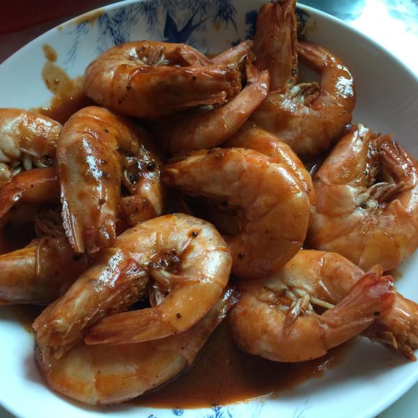 新奇kbwa的红烧大虾做法的学习成果照