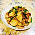 青蒜炒豆干肉丝