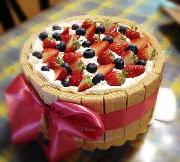 布织布手工蛋糕步骤