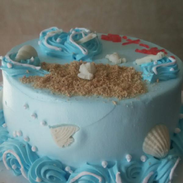 八寸海洋蛋糕
