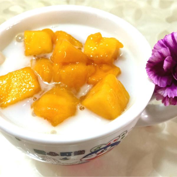 英子爱美味儿的芒果椰奶西米露做法的学习成果