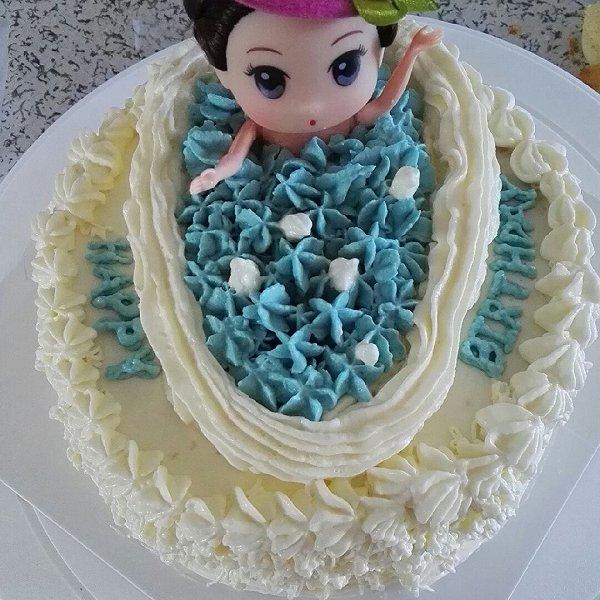 姚颜3的娃娃蛋糕做法的学习成果照