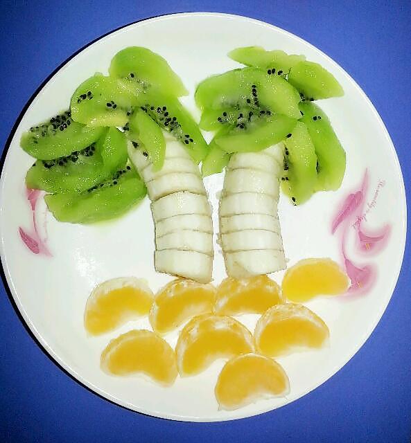 地主爱美食的创意水果拼盘做法的学习成果照
