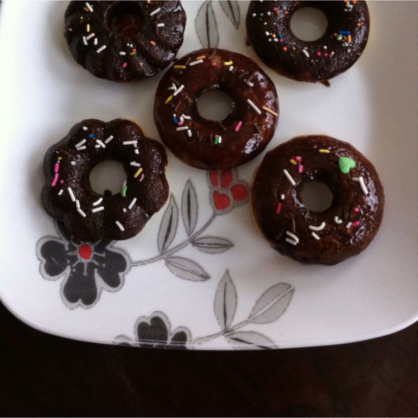 sunny2008的缤纷巧克力迷你甜甜圈#疯狂动物城#做法