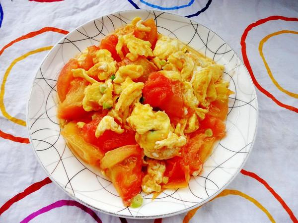 燕清欣的最爱下饭菜——西红柿炒蛋做法的学习成果照