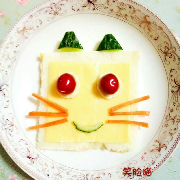 许多心愿的笑脸猫#百吉福芝士力量#做法的学习成果照