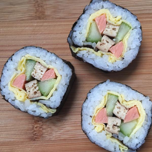 浅忆0809的寿司做法的学习成果照
