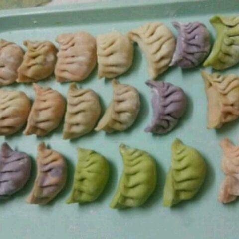 萌紫嫣的彩虹面条做法的学习成果照_豆果美食