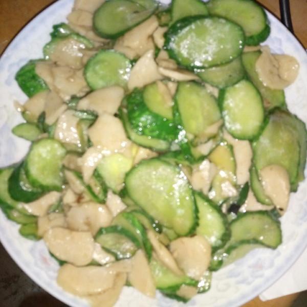 我叫强子的黄瓜炒火腿肠做法的学习成果照